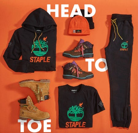 The Timberland x Staple from Eblens Clothing and Footwear