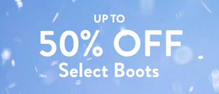 Up to 50% Off on Select Boots from Sperry Top-Sider