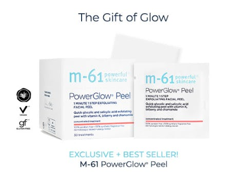 M-61 PowerGlow® Peel from Bluemercury