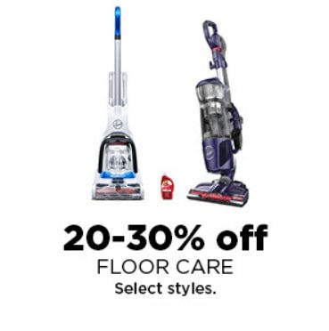 20-30% Off Floor Care from Kohl's