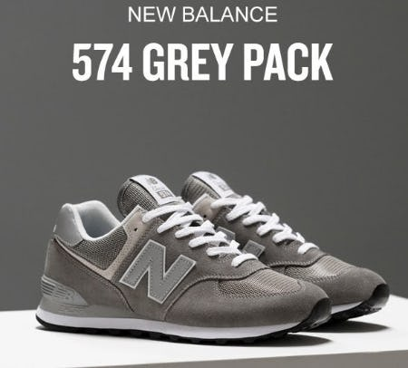 New Balance 574 Grey Pack from Finish Line