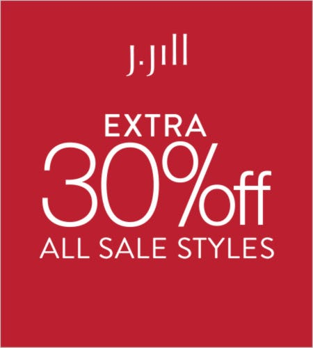 Extra 30% off* All Sale Styles from J.Jill