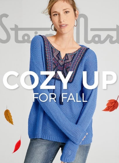 The Coziest Fashion for Fall from Stein Mart