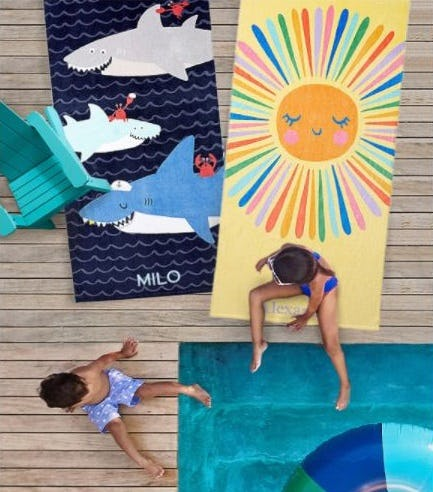 Beach and Outdoor Essentials for Sunny Days Ahead from Pottery Barn Kids