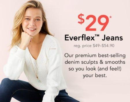 $29 Everflex Jeans