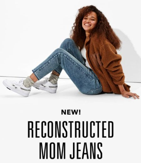 Just Dropped: Reconstructed Mom Jeans from American Eagle Outfitters