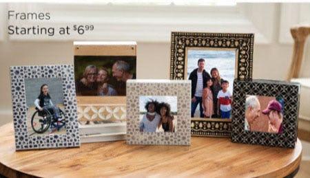 Frames Starting at $6.99 from Kirkland's