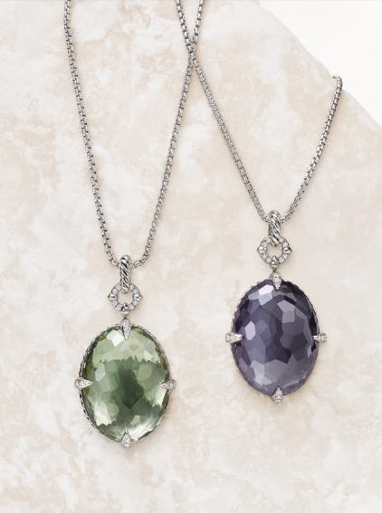 New Oval-Cut Châtelaine Designs from David Yurman
