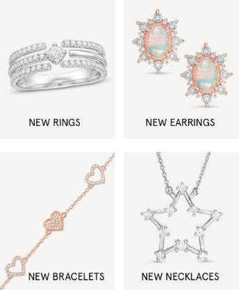 Shop New Arrivals from Zales The Diamond Store