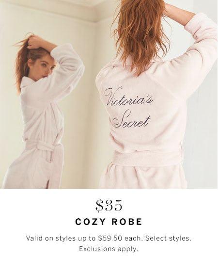 $35 Cozy Robe