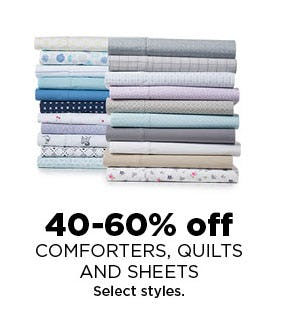 40-60% Off Comforters & More from Kohl's