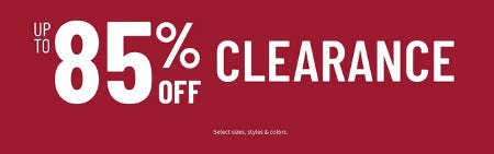 Up to 85% Off Clearance from Jos. A. Bank