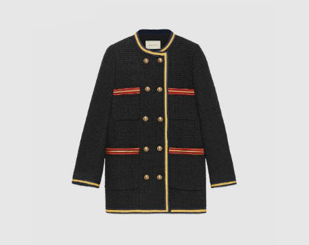 Light Tweed Jacket from Gucci