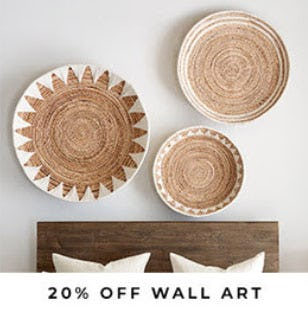 20% Off Wall Art from Pottery Barn