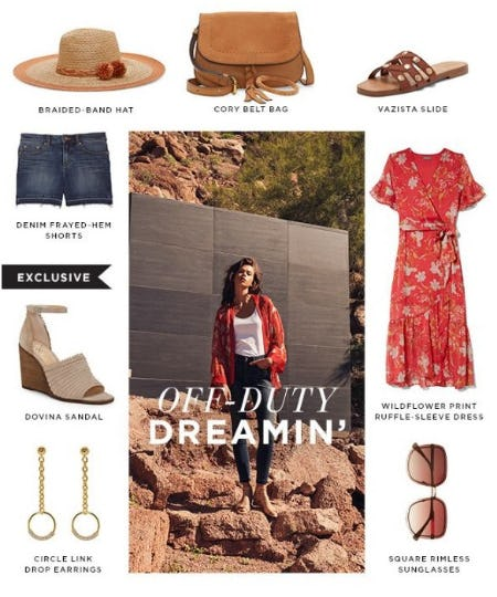 Spring's Earth-Tone Color Trend from Vince Camuto