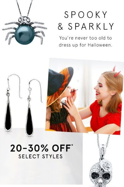 20-30% Off Select Styles from Kay Jewelers