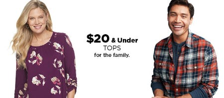 $20 & Under Tops from Kohl's