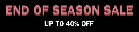 End of Season Sale: Up to 40% Off from Diesel