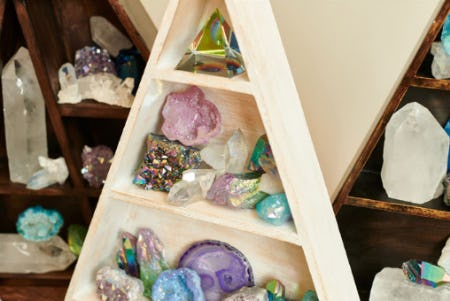 New Crystal Collection from Earthbound Trading Company