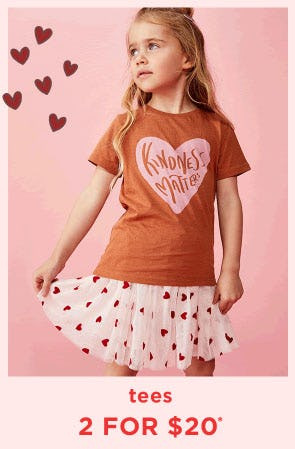 Tees 2 For $20 from Cotton On Kids