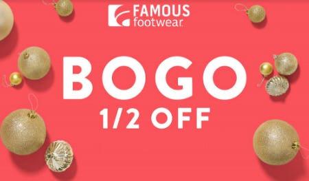 BOGO ½ Off