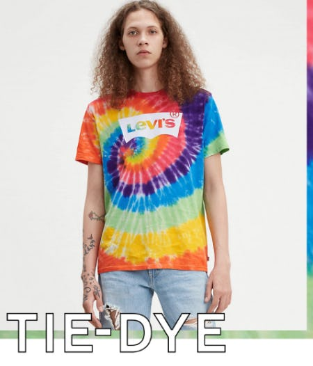 The Rebirth of Tie-Dye Styles from The Levi's Store