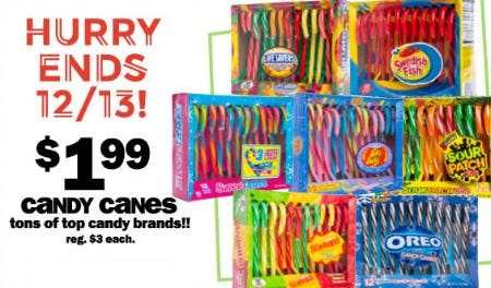 Candy Canes at Only $1.99 from Five Below