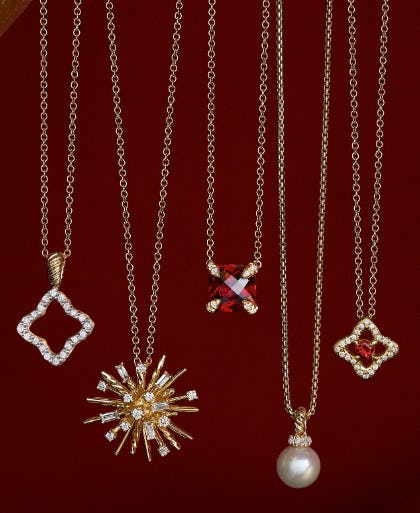 Our Charm Necklaces from David Yurman