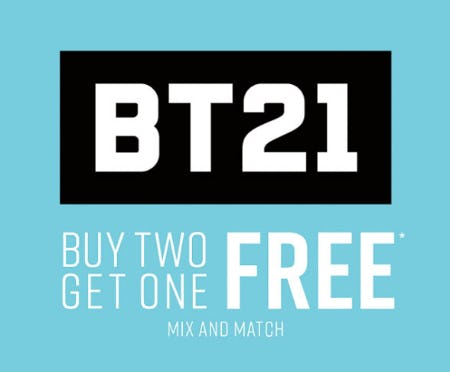BT21 Buy Two Get One Free from Hot Topic