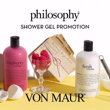 Philosophy Show Gel Promotion from Von Maur