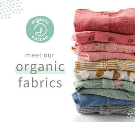 Meet Our Organic Fabrics from Carter's