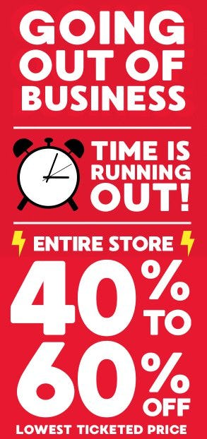 Entire Store 40% to 60% Off Lowest Ticketed Price from Gymboree