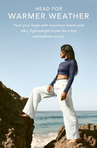 Head for Warmer Weather from Athleta