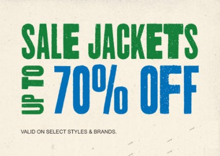 Sale Jackets up to 70% Off from Zumiez