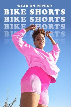Sporty-Cool Bike Shorts