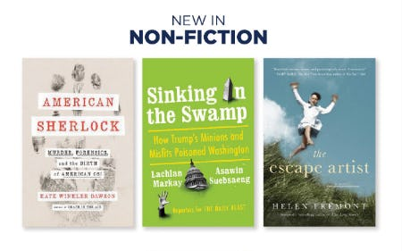 New in Non Fiction from Books-A-Million