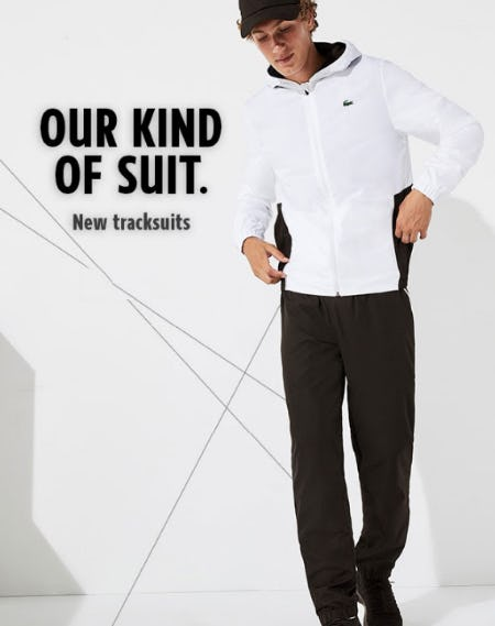 Our Kind of Suit from Lacoste