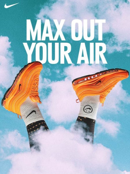 Max Out Your Air from Shiekh
