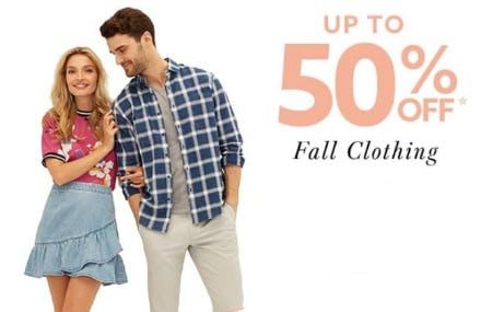 Up to 50% Off Fall Clothing from Lord & Taylor