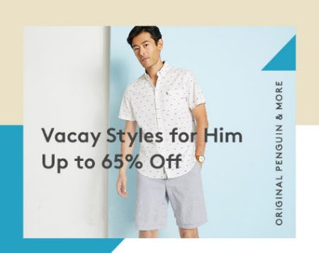 Up to 65% Off Vacay Styles for Him from Nordstrom Rack