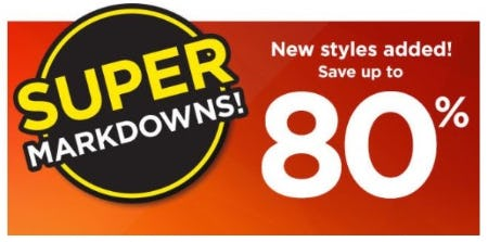 Up to 80% Off Sale Styles from Kohl's
