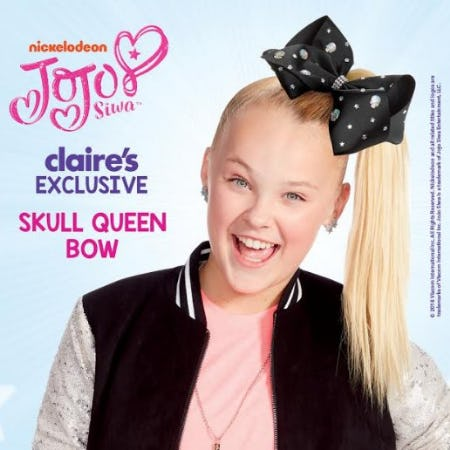 JoJo Skull Queen Bow! from Claire's