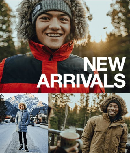Shop New Arrivals from The North Face