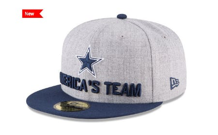 Dallas Cowboys New Era 2018 NFL Draft 59FIFTY Cap from Lids