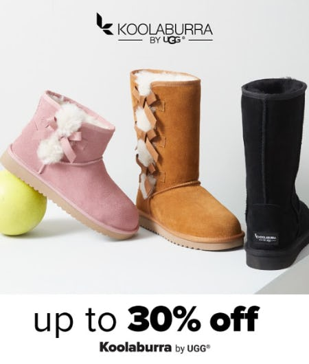 Up to 30% Off Koolaburra by UGG from Belk