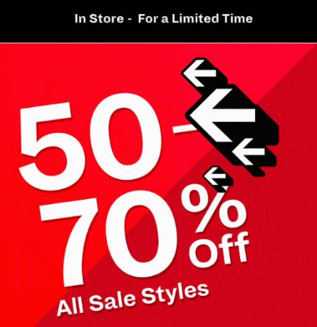 50-70% Off Sale from Spring