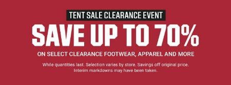 799c4debc7e2 Up to 70% Off Tent Sale Clearance Event at Dick's Sporting Goods ...