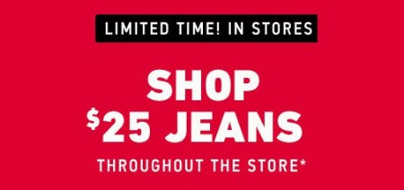 Shop $25 Jeans Throughout the Store from Hollister Co.