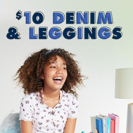 $10 Denim & Leggings from Justice
