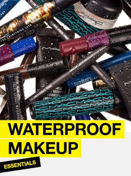 Waterproof Makeup Essentials from M.A.C